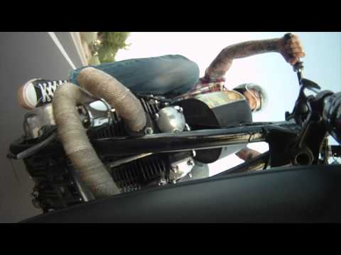 Custom XS650 bobber chopper old school vintage customized hard tail rigid motorcycles HD