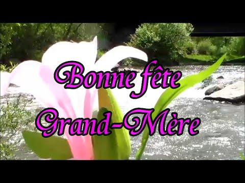 Bonne Fête Grand Maman Poème Pour Grand Mère Et Mamie Youtube