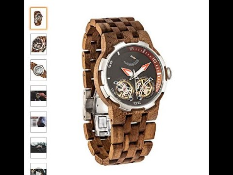 Fashionable Wooden Wrist watches review! Uncommon Stylish wrist watch for Men. #3MR