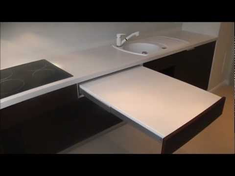Sigmat - meble kuchenne z systemem SERVO-DRIVE