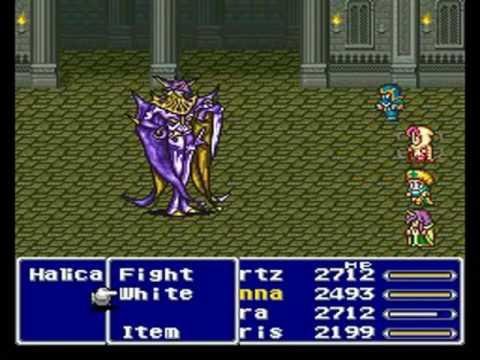 Final Fantasy V - Four Job Fiesta Boss #42 Halicarnassus