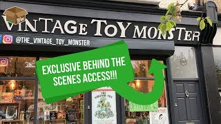 Ep. 43 - First look into the new The Vintage Toy Monster store!