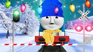 ❄️ Snow Storm Thomas The Tank Engine And Friends Finger Family Song ❄️