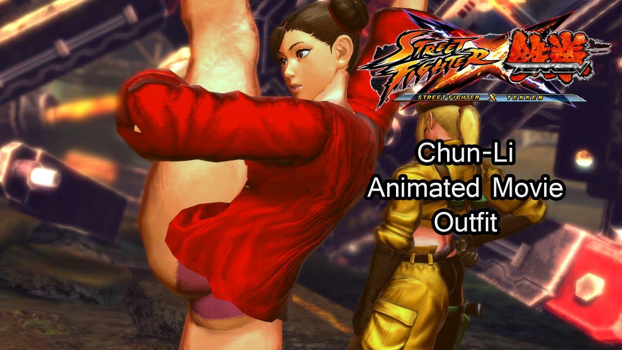 Chun Li Animated Movie Skin Street Fighter X Tekken Youtube