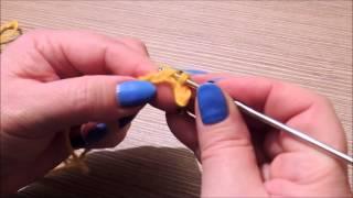 Уроки вязания крючком для начинающих. Урок 3.