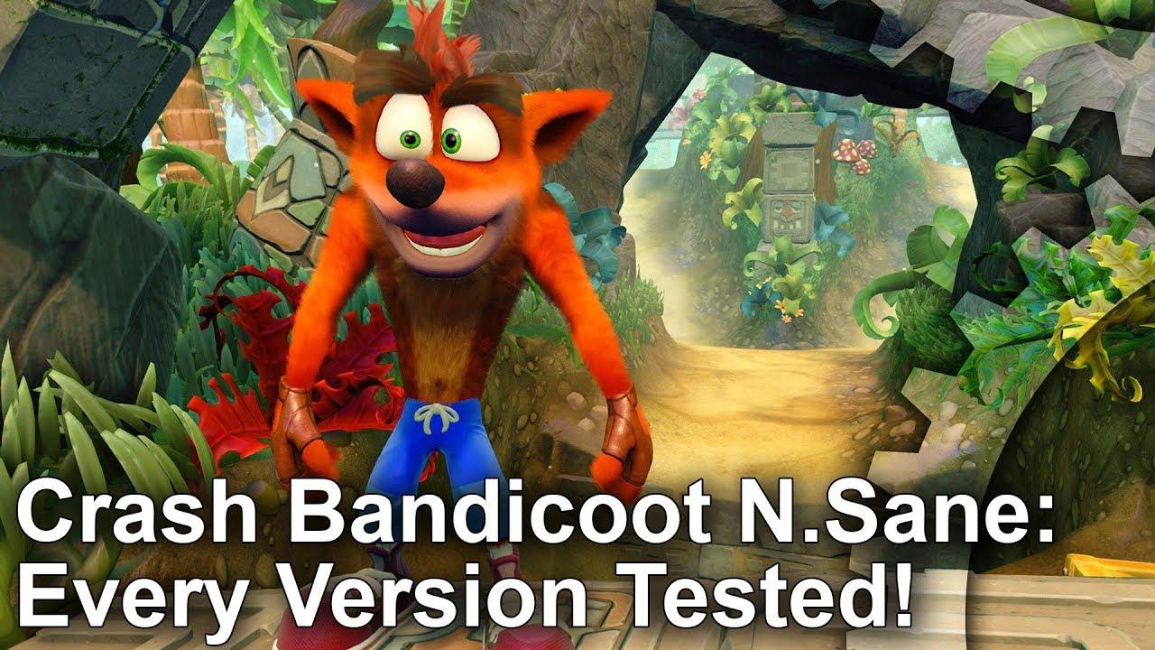 Crash Bandicoot N  Sane Trilogy: Nintendo Switch review