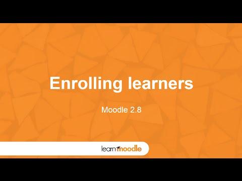 Learn Moodle 2015: Enrolling Learners