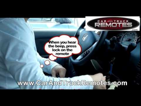 honda fit  remote battery replacement doovi