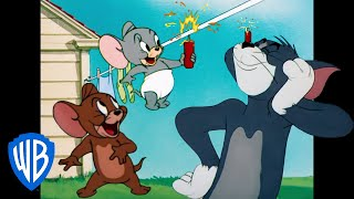 Tom  Jerry  New Years Resolution  Classic Cartoon Compilation  WB Kids