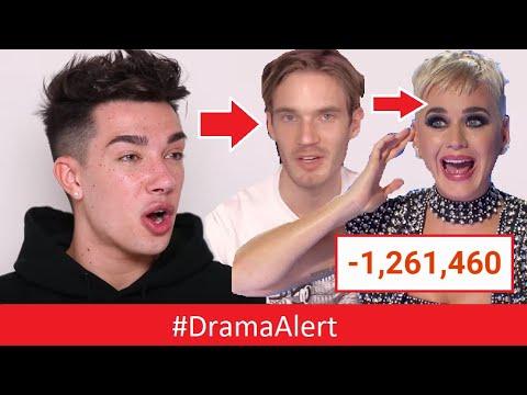 James Charles - RESPONDS! #DramaAlert Katy Perry , PewDiePie , Shane Dawson & Jeffree Star