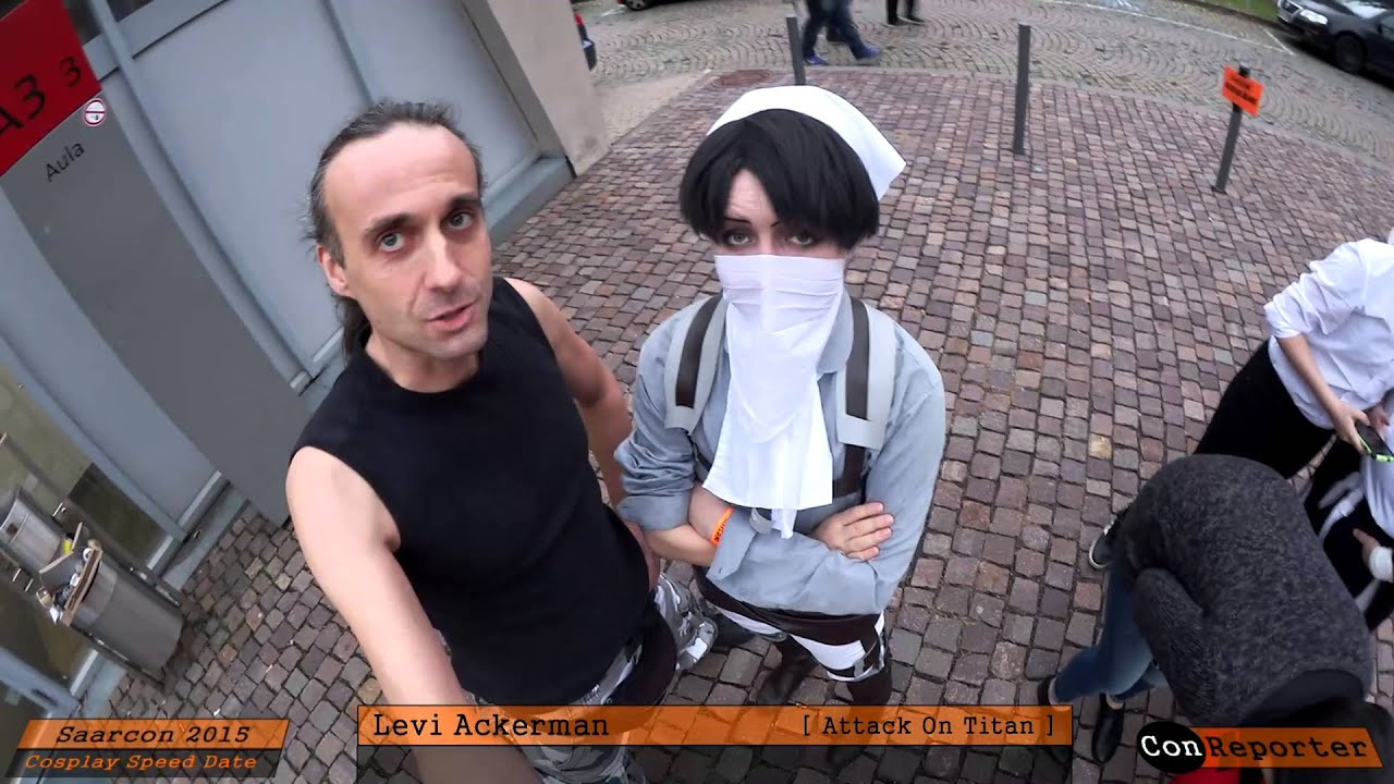 Gut bekannt Levi Ackerman [ Attack On Titan ] Cosplay @ SAARCON 2015 - YouTube CT55