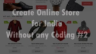 Erstellen von E-Commerce-Website in WordPress || Online-Shop für Indien || Teil 2 [Hindi/Urdu]