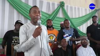Presidential Aspirant Omoyele Sowore Storms Ilorin Kwara State For His Town Hall Meeting