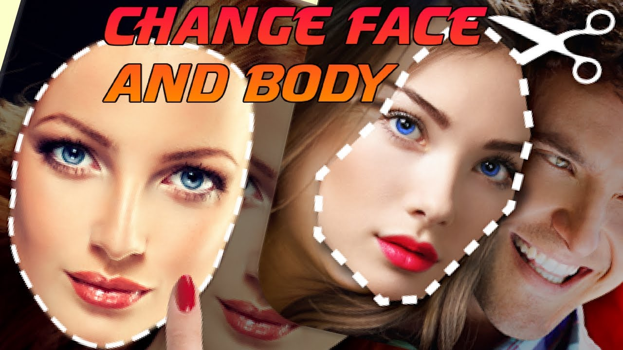 How to replace face in photo online for free