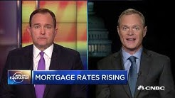 Mark Fleming talks about rising mortgage rates