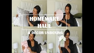 HOME DECOR HAUL 2018/ UNBOXING WITH ME/ Mr Price Home, The Hub, Sheet Street..