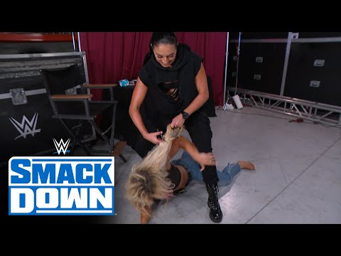 Sonya Deville cuts Mandy Rose's hair in vindictive attack: SmackDown, July 31, 2020