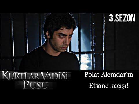 Kurtlar Vadisi Pusu - Polat Alemdar'ın efsane kaçışı | FULL Sahne