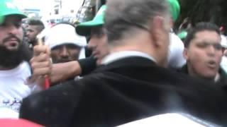 استفزازات مليشيات المخابرات الجزائرية في حق المجتمع المدني المغربي في تونس