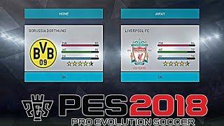 PRO EVOLUTION SOCCER 2018 (PES 2018) XBOX 360 GAMEPLAY