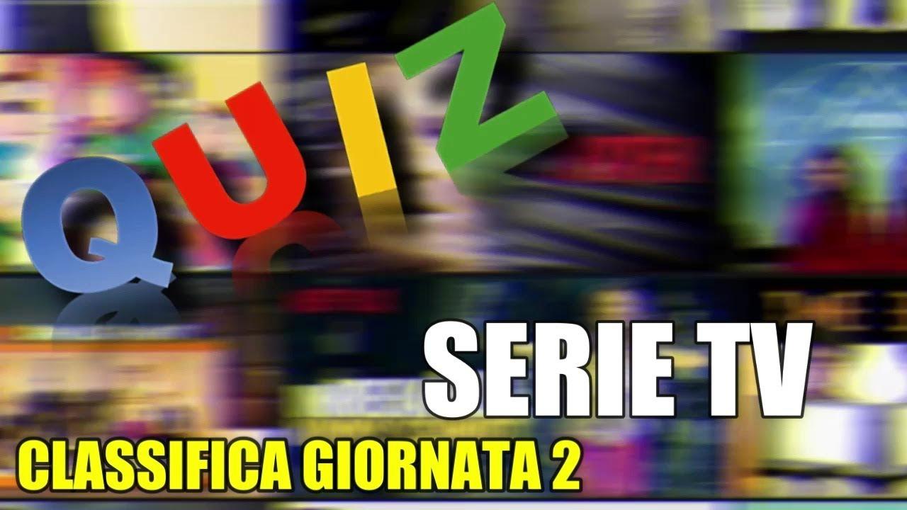 Classifica Giornata 2 Quiz Serie Tv Youtube