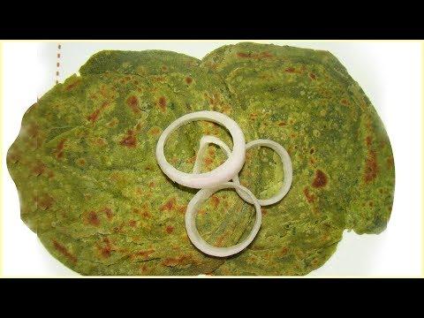 Palak Lachha Paratha By Sanjeev Kapoor | Spinach Lachha Paratha | Khana Khazana