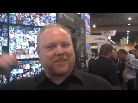 steve bell interviews Fusion IO at N+I Las Vegas (Video #1 of 3)