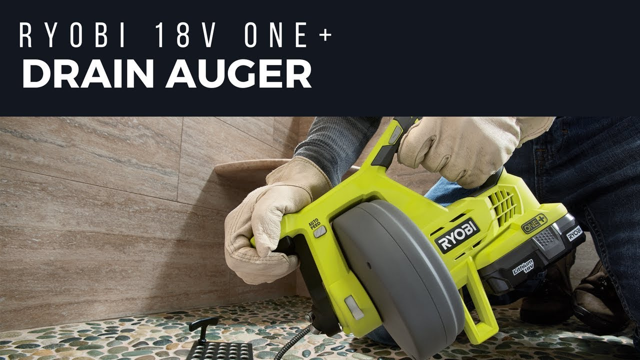 Ryobi Drain Auger Review – In Search Of Hairballs - Home Fixated