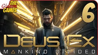 Прохождение Deus Ex: Mankind Divided #6 ➤ ХАРД РЕБУТ