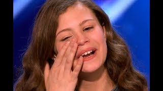 "GOLDEN BUZZER - #1 The ""MOST EMOTIONAL"" 13 Yr Old Singing - Don"