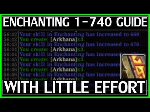 Legion Enchanting Leveling Guide - 1-740 With Little Effort - WoW Legion