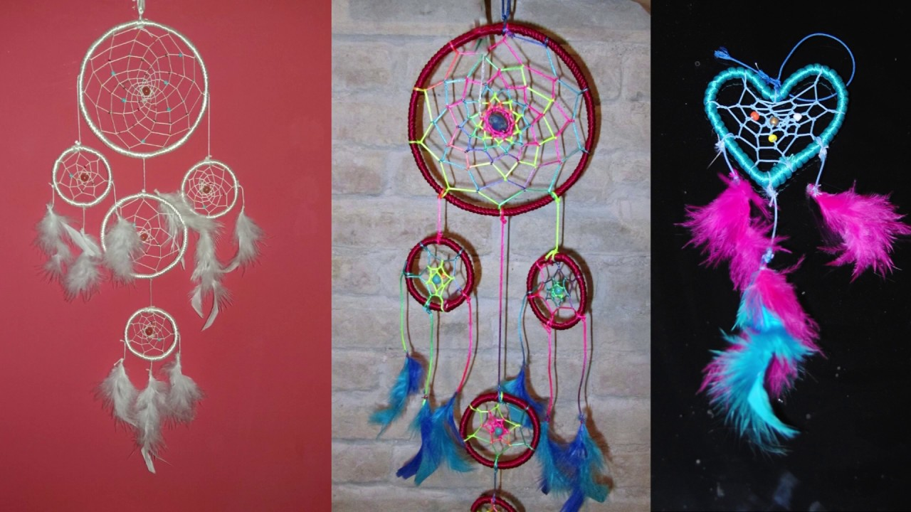 Como Hacer Un Atrapasueñoshow To Make A Dreamcatcher Diy Youtube