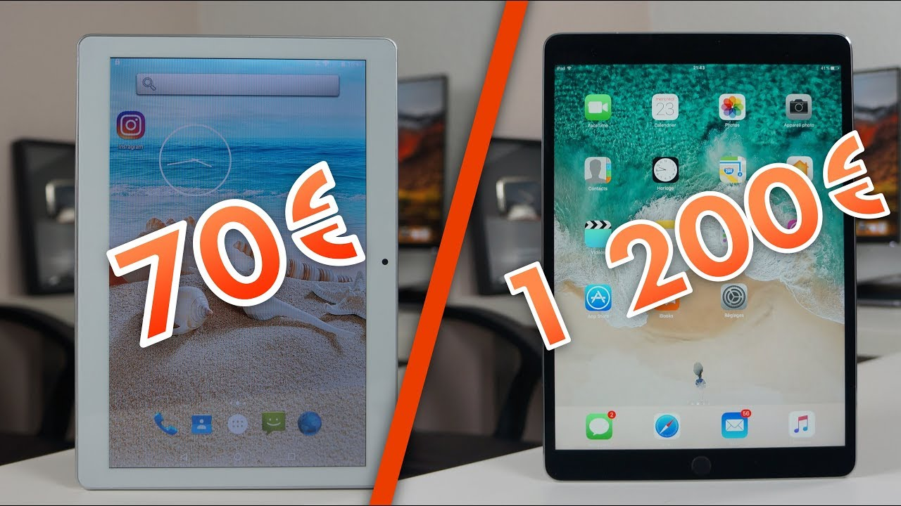 tablette 70 vs ipad 1200. Black Bedroom Furniture Sets. Home Design Ideas