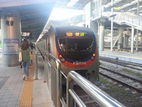 1호선 천안급행(Cheonan rapid) 서울역(Seoul station)-군포(Gunpo) 구간 주행영상
