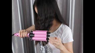 видео Тройная плойка для волос
