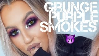 Grunge Purple Smokes // KeilidhMua