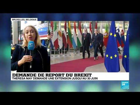 Report du Brexit: Theresa May à Bruxelles pour convaincre les Européens