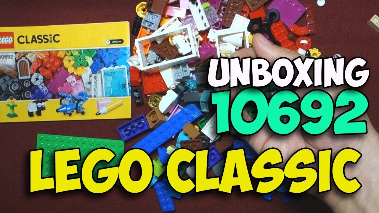 LEGO Classic Creative Bricks Box (10692) - Toy Unboxing