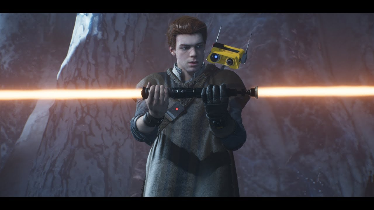 Jedi Fallen Order - Cal Kestis rebuilds his lightsaber, and his faith - YouTube
