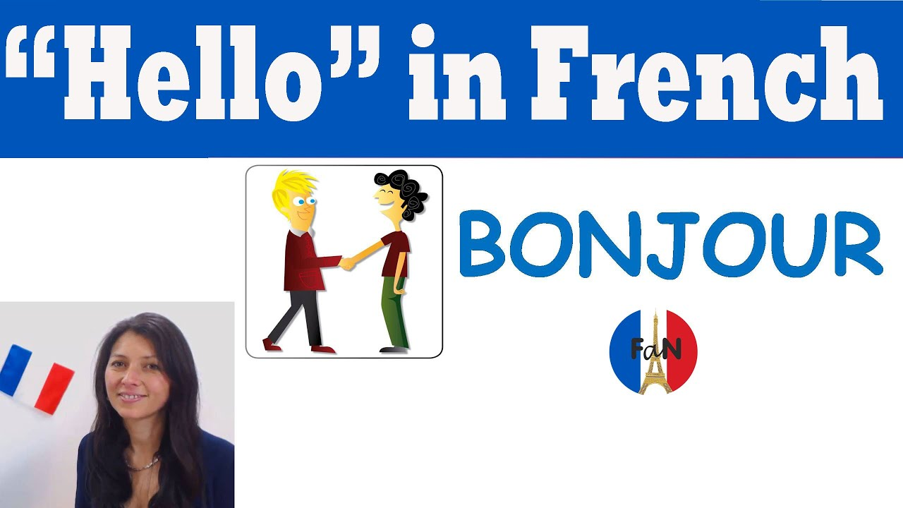 How to say we are happy in french