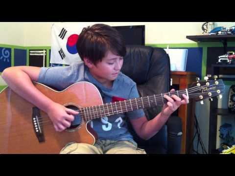 Smash Mouth - All star - Fingerstyle Acoustic Guitar - Shrek Soundtrack