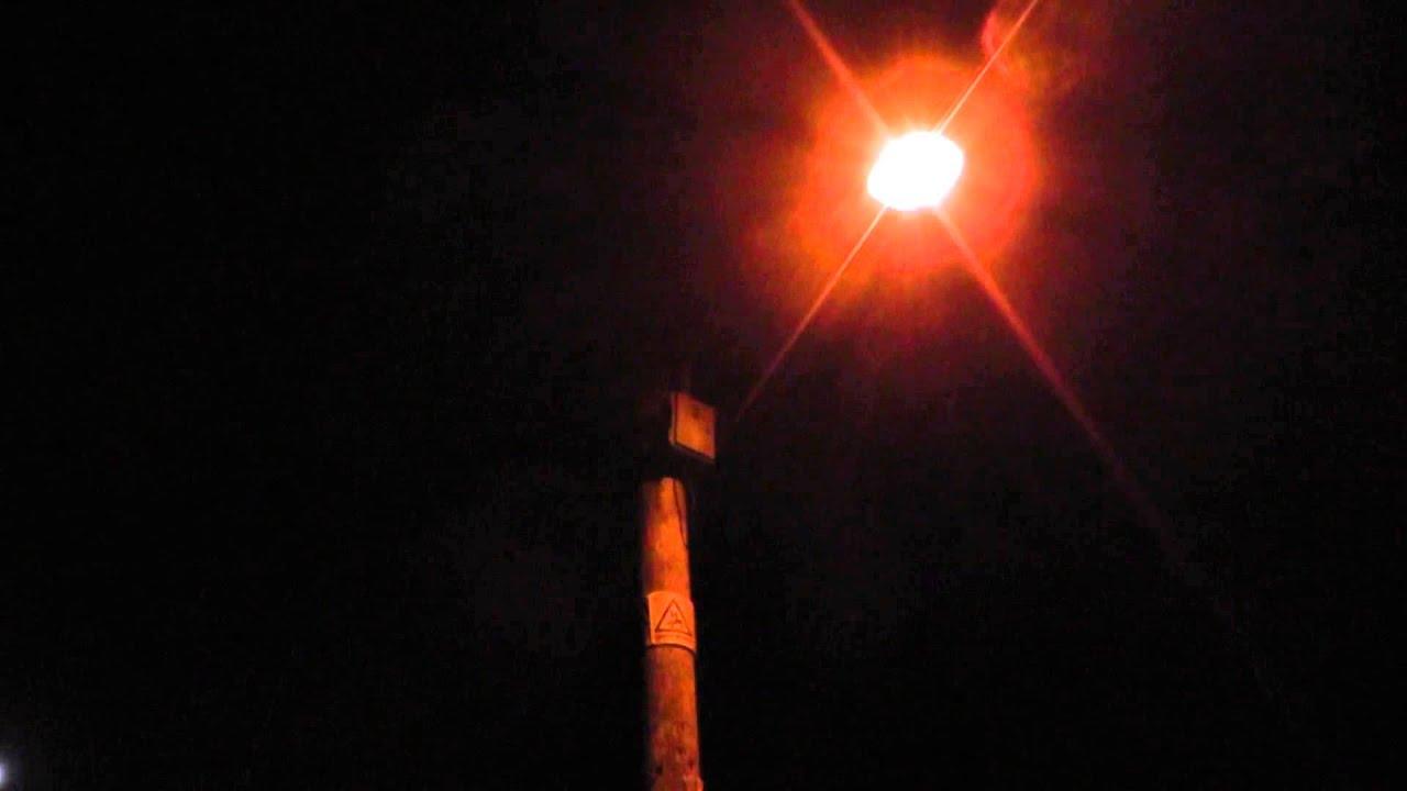 Village lamp post light at night - FREE STOCK FOOTAGE ...