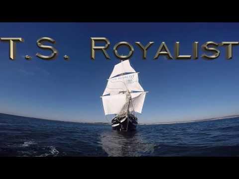 T.S. Royalist - Parade of Sail TSR Greenwich 2017