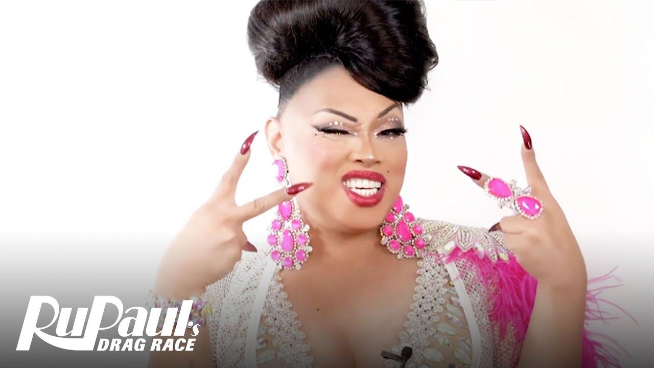 Jiggly Caliente's 2.0 Brand Ru Look 💖 Ruvealing the Look | RuPaul's Drag Race AS6