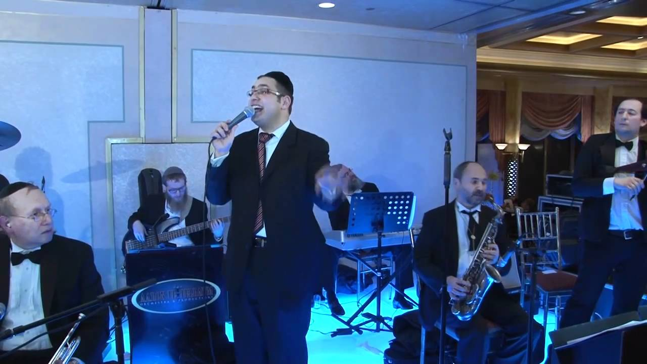 Dovid Gabay sings at Wedding  An Aaron Teitelbaum Production