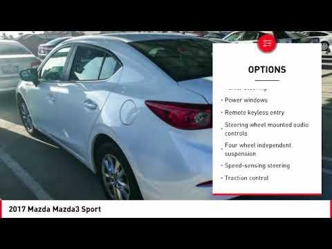 2017 Mazda Mazda3 Cathedral City CA 903644R