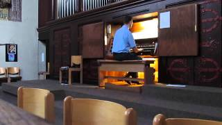 Denis Bedard - Alla marcia, Andantino, Postludes Nr. 3 - Orgelkonzert 2013 Mitschnitt Teil 4