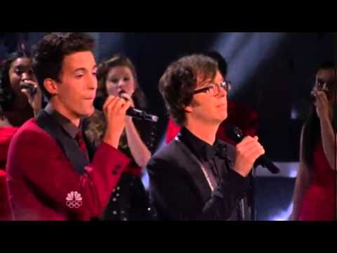 Finale Night Performance  Vocal Rush & Ben Folds  Peace On EarthLittle Drummer Boy