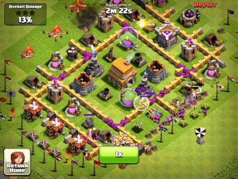 Clash of Clans, Power of the Healer - defense