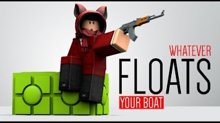 This is the best boat ever! Roblox
